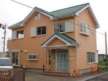施工住宅の外観写真